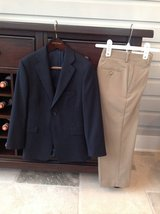 Boys Suit - Blue Blazer and Dress Pants from Nordstrom Size 8 in Chicago, Illinois
