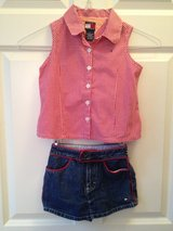 Tommy Girl 6T Summer Top/Shorts in Lockport, Illinois
