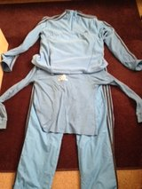 Adidas Blue Workout Outfit Size Large in Nellis AFB, Nevada