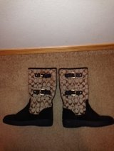 Coach Winter Boots Size 7 in Nellis AFB, Nevada