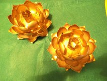 lotus candle holders in San Clemente, California