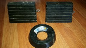 RV/BOAT/CAMPERS  Heavy Duty Wheel Chockes & Dock Chock in Oswego, Illinois