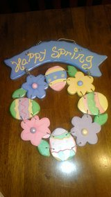 Happy Spring Wreath in Kingwood, Texas