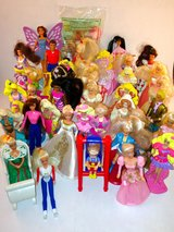 Lot of 39 Mcdonalds Barbies Years Vary from 80's-90's in Fort Leonard Wood, Missouri