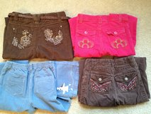 Girl's 6/6X Corduroy Pants 3 Pairs left in Lockport, Illinois