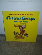 Curious George and the Pizza book in Camp Lejeune, North Carolina