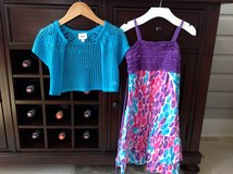 Girls Justice Dress and Sweater Size 7-8 in Glendale Heights, Illinois
