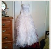 Stunning tulle and organza wedding gown in Conroe, Texas
