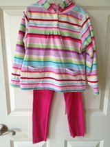 2 pc. Girl 6 Fleece Hoodie & Leggings in Bolingbrook, Illinois