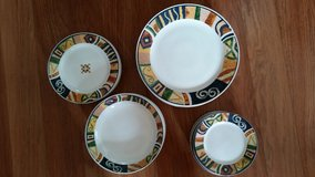 28 Pc China; Dishes,Bowls, and Small  Plates by Oneida in Aurora, Illinois