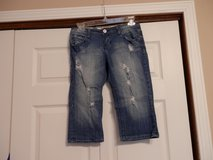 T Five longer Jean Shorts in Fort Riley, Kansas