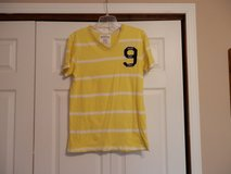 Yellow/White Aeropostale v neck Shirt in Fort Riley, Kansas