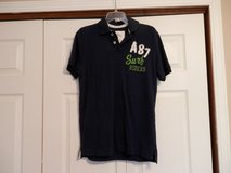 Navy Aeropostale Polo Shirt in Fort Riley, Kansas