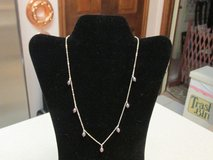 Black Pearls .925 Sterling Silver Chain & Clasp - Gift Boxed in Houston, Texas