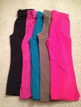 Girl's Size 5 Pants - 5 pairs in Naperville, Illinois