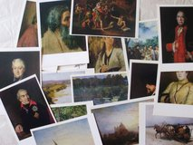 Vintage Art postcards in Fort Campbell, Kentucky