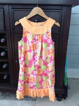 Girls Orange Pineapple Sundress by Hartstrings Size 7-8 in Bolingbrook, Illinois
