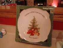 Christmas American Greetings Holly Hobbie Holiday Porcelain Plate 1975 in Brookfield, Wisconsin