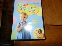Baby signing time Cd in Oswego, Illinois