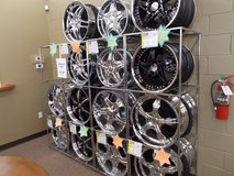 Rims Rims and more Rims in Mountain Home, Idaho
