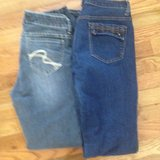 2 Pairs of Womans Jeans size 9 in Sugar Grove, Illinois