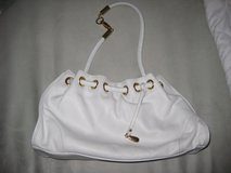 White Leather Handbag in Ramstein, Germany