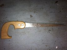 Little hand saw in Cherry Point, North Carolina