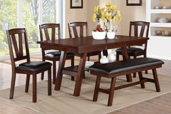 """NEW DINE SET WITH BENCH """"FREE DELIVERY"""" in Riverside, California"""