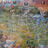 New United States Presidents Puzzle in Chicago, Illinois