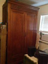 Wood  Cabinet 1800s very old in Houston, Texas